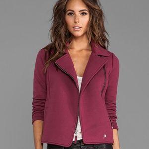 Splendid | Midtown Moto Jacket Asymmetrical Zip